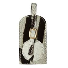 Bristow ZebraPrint Luggage Tag OKA Europe