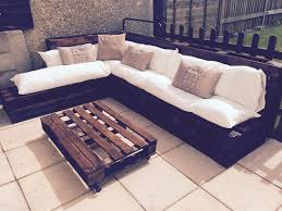 Pallet Patio Furniture Plans by Pallet Patio Sectional Interior Design
