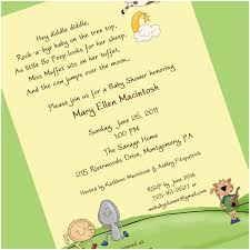 Baby Shower Invitations Papier