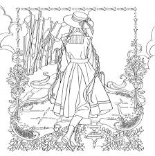 Amazon Color The Classics Anne Of Green Gables A Coloring Book Visit To Prince Edward Island 9781626923973 Jae Eun Lee Books