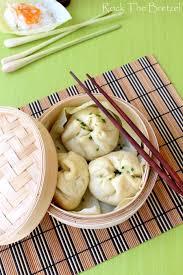 cuisine asiatique vapeur banh bao et dim sum à la crevette cuisson vapeur