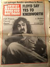ARTICLE ABOUT Frank Zappa FROM NEW MUSICAL EXPRESS April 26 1975