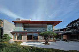 104 Japanese Modern House Plans This Home Beautifully Blends Traditional And Architecture Architectural Digest