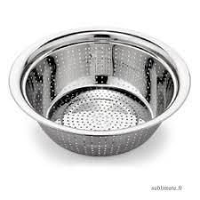 passoire de cuisine 40 cm nouveau bol en acier inoxydable avec passoire laver passoire