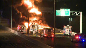 Westbound I-30 Shut Down Following Fiery Crash - NBC 5 Dallas-Fort ... Tanker Truck Fire Kills Driver Temporarily Shuts Down I270 And Hwy 20 Near I80 In Sierra Closed Due To Tanker Truck Explosion One Person Killed Another Injured Collision Fire Pakistan Fuel Kills At Least 140 Fox 61 Explodes Closing I94 Detroit Chicago Tribune Causes Panic California Town Medium Duty Fuel Expertise Gives Up On No One Is Carrying Estimated 8700 Gallons Of Gasoline Burns Three Gnville The Daily Gazette The Rollover Risks Of Tanker Trucks Gas Explosion Employees Scrambles After Explodes Outside Restaurant