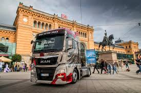 100 Truck Design MAN Presents Spectacular Truck Designs To Mark The IAA MAN