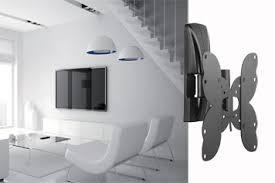supports muraux pour tv écran plat et incurvé méliconi
