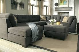 sectional grey tufted sectional toronto decenni custom furniture