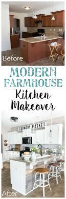 Modern Farmhouse Kitchen Makeover Reveal StyleFarmhouse BudgetFarmhouse Outdoor DecorFarmhouse
