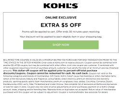 Printable And Online Kohl's Coupons | Coupon Codes Blog