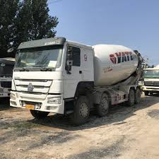 100 Concrete Truck Capacity Hot Item Second Hand 8X4 Low Price Small 6m3 8m3 10m3 Mixer For Sale