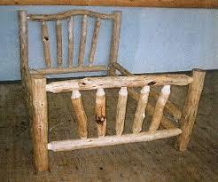 best 25 log bed ideas on pinterest log bed frame timber bed