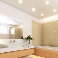 deckenbeleuchtung für das bad led einbaustrahler