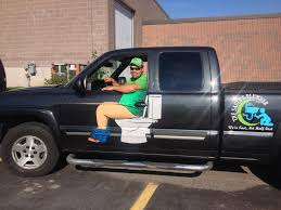 Plumber's Funny Truck Decal Is Going Viral - Simplemost
