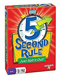 In 5 Second Rule Each Person Takes Turns Naming 3 Things On A Specific Topic The Catch Is That You Only Have Seconds To Name All