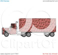 100 Pink Camo Trucks Clipart Illustration Of A Semi Diesel Truck With A