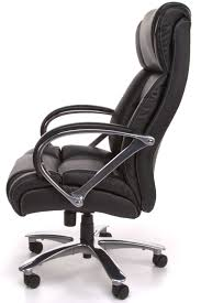 Islie Task Chair Black Showy Modren Office Side Views And Decor Big Tall Leather With Steel Leg Wheels Arms 500lbs