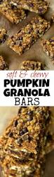 Pumpkin Flaxseed Granola Nutrition Info by Soft U0026 Chewy Pumpkin Granola Bars Running With Spoons