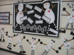 Winter Science And History Bulletin Board Idea