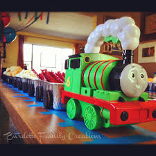 Thomas The Tank Engine Bedroom Decor by Thomas The Train Birthday Party Idea Freight Cars Are Loaf Tins