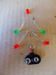 Now Connect The Connector To Battery And Watch Your Christmas Tree Light Up