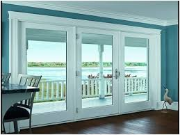 French Patio Doors With Internal Blinds by Patio Doors With Built In Blinds Image Collections Doors Design