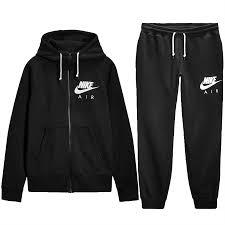 nike air mens zip up hoody hooded sweatshirt top sports pants