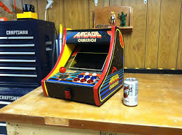 small tabletop cabinet arcade classics lets call it done
