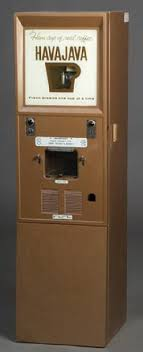 A 1960s Coin Operated Hava Java Coffee Vending Machine Image Credit On Full Record
