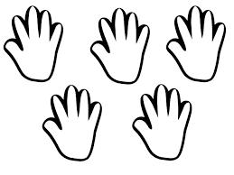 Kids Hand Palm Clipart