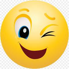 Emoticon Smiley Wink Emoji Clip Art