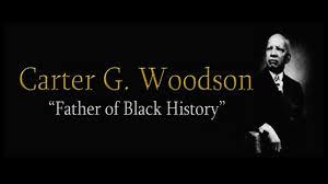 Une Femme Afro Américaine En Lisant Le Journal G Woodson Fils D Esclave Est Le Précurseur De L Histoire