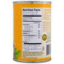Libbys 100 Pure Pumpkin Nutritional Info by Farmer U0027s Market Foods Organic Pumpkin Pie Mix 15 Oz 425 G