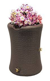 Sams Club Wicker Deck Box by Amazon Com Good Ideas Imp W65 Impressions Willow Rain Saver Rain
