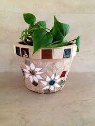 A Personal Favorite From My Etsy Shop Outdoor PlantersRustic PlantersOutdoor GardensIndoor OutdoorMosaic Flower