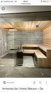glas in sauna dfbad kabine badezimmer mit sauna