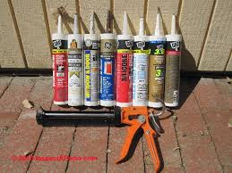Polyseamseal Tub And Tile Adhesive Caulk by How To Use Exterior Caulks U0026 Sealants For Buildings