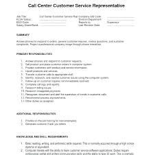 Sample Resumes For Call Center Jobs Resume Templates Format Job Free Template