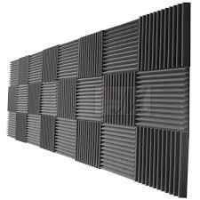 12 X 12 Foam Ceiling Tiles by Amazon Com Mybecca 24 Pack Acoustic Foam Panels 2