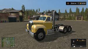 OLD MACK B61 V8 TRUCK V1.0 FS17 (10) - Farming Simulator 2017 Mods