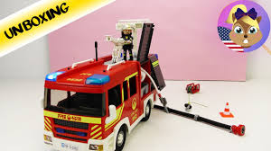 PLAYMOBIL Huge FIRETRUCK 5363 With Lights And Sound! Equipment For ... Playmobil Take Along Fire Station Toysrus Child Toy 5337 City Action Airport Engine With Lights Trucks For Children Kids With Tomica Voov Ladder Unit And Sound 5362 Playmobil Canada Rescue Playset Walmart Amazoncom Toys Games Ambulance Fire Truck Editorial Stock Photo Image Of Department Truck Best 2018 Pmb5363 Ebay Peters Kensington