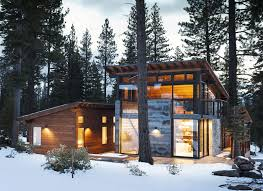 Harmonious Mountain Style House Plans by Marvelous Modern Mountain Home In Truckee California Is A Prefab