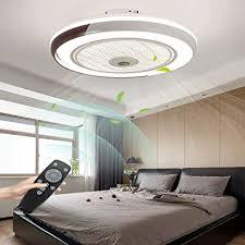 led deckenventilator mit le moderne invisible fan deckenleuchte ultra leise deckenventilator mit beleuchtung esszimmer schlafzimmer wohnzimmer led