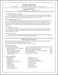 Cv Resume Sample For Nurses Registered Nurse Example Nursing Resumes Examples Ex Medium Size