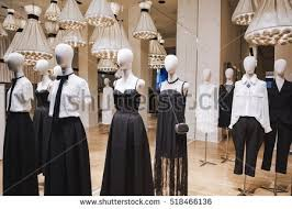 Women Clothing Store Display