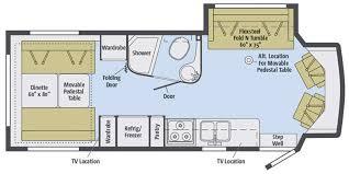 Itasca Class C Rv Floor Plans by Full Specs For 2016 Winnebago Aspect 27d Rvs Rvusa Com