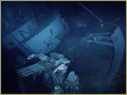 Uss America Sinking Location by Pictures Of The Wreck Of The Uss Yorktown Cv 5 Sunk At Midway
