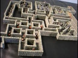3d Dungeon Tiles Dwarven Forge by Dwarven Forge Terrain With Dungeons And Dragons Minis Youtube