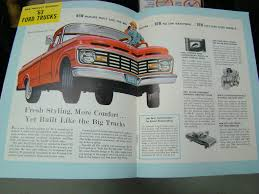 100 Best Ford Truck Engine CLUES For Owners Magazine 1963 GrumpsGarage
