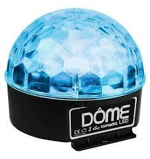Effet DOME LED Demi Sph¨re 6x3W RGBWYP DJ SHOP